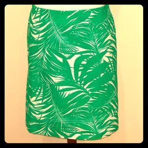 Canvas Cotton A-line Skirt